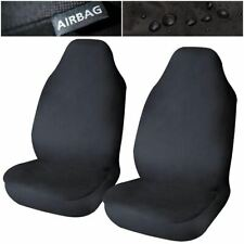 Waterproof Airbag Compatible Front Seat Covers x2 for Skoda Fabia