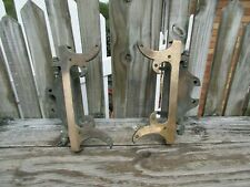 """SOLID BRASS VICTORIAN STYLE HINGES/10 3/4"""" TALL"""