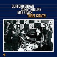Brown- Clifford/Rollins- Sonny/Roach- MaxThree Giants! (New Vinyl)