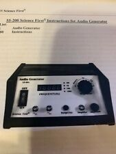55-200 science first audio generator