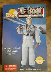The ULTIMATE SOLDIER 12 INCH WWII GERMAN U-BOAT COMMANDERNEW
