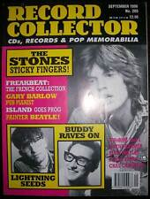 Record Collector September 1996 (Rolling Stones, Lightning Seeds, Buddy Holly)