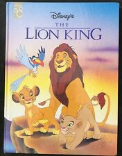 Walt Disney Disney's THE LION KING Mouse Works  Hardcover