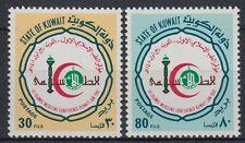 Kuwait 1981 ** Mi.881/82 Islamische Ärtzekonferenz Islamic Medicine Conference