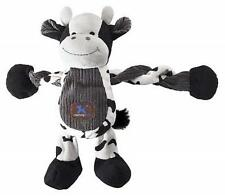 NEW Black and White Cow Dog Toy Pulleez K9 Tuff by Charming Pet FREE SHIPPING