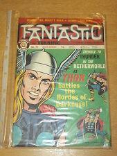 FANTASTIC #72 BRITISH WEEKLY 29TH JUNE 1968 THOR (A)^
