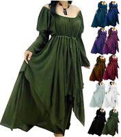 Womens Boho Maxi Dress - Peasant Renaissance Rayon Crinkle - G922 LotusTraders