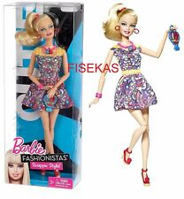 Barbie Fashionistas Cutie Doll Swappin' Style (Swapping Heads) 2010 V4381 NEW