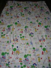 Fun Kids fun car house cat dog boy girl colourful big curtain / fabric
