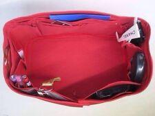 Speedy 40 Bag LV Organizer Insert Fits Base Shaper Red Color Handbag Accessories