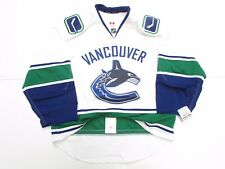 VANCOUVER CANUCKS AUTHENTIC AWAY TEAM ISSUED REEBOK EDGE 2.0 7287 JERSEY SIZE 52