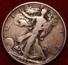 1937 Philadelphia Mint Silver Walking Liberty Half
