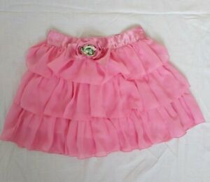 Super Mädchen Rock Lagenrock Gr 104 Tutu Tütü Tüllrock Petticoat  Tanzkleid Rosa