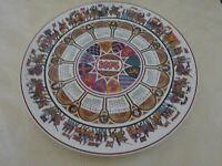 Wedgwood Collectors Calendar Plate 1974 Camelot