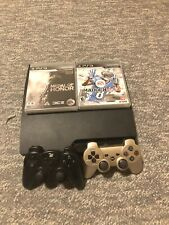 Sony PS3 Play Station 3 120GB Bundle Two Remotes Games Medal Of Honor Madden PS4