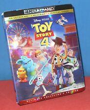 Toy Story 4 (4K Ultra Hd + Bonus Blu-ray, 2019, 2-Disc Set) One Disk Is Missing