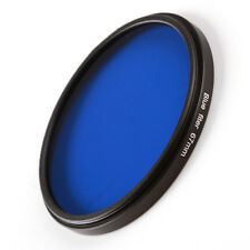 58mm Full Blue Color Conversion Lens Filter for Canon Nikon Sony DSLR Camera M58