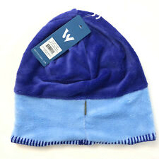 White Sierra Youth Kids Cozy Beanie Fleece Blue Two Tone L/XL Unisex