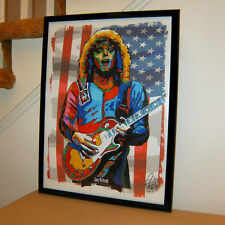 Gary Richrath REO Speedwagon Guitar Hard Rock Music Poster Print Wall Art 18x24