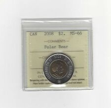 **2008**ICCS Graded Canadian, Toonie, Two Dollar, **MS-66**