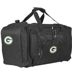 """NFL Green Bay Packers Football  Duffel Bag Gym Bag Duffle Official Licensed 20"""""""