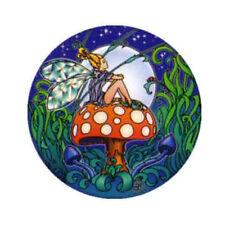 Mandala Arts fata seduta su fungo 2 lato cerchio di alta qualità Adesivo Finestra