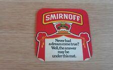 Smirnoff Beermat - 1978