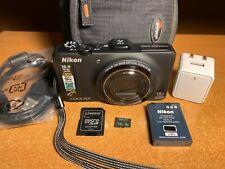 Nikon COOLPIX S9300 16.0MP Digital Camera + 16GB Card + Case