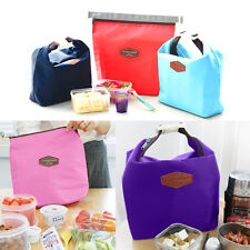 Fashion Thermal Insulated Cooler Picnic Lunch Tote Bag Pouch Box Waterproof Bag