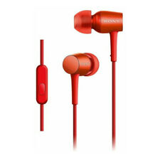 SONY MDR-EX750AP Red High Resolution Canal Type in-ear Headphones