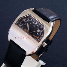 brand new flyback double hands type watch coolest watch vintage retro 1970 ltd
