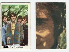 1960s Swedish Pop Star Card #17 The Tremeloes with Beatles Lennon Sectional Back