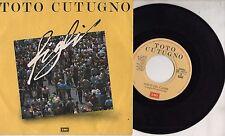 TOTO CUTUGNO disco 45 giri FIGLI  made in ITALY Sanremo 1987