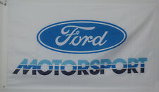 Ford Motorsport Flag 3x5 Car Banner Racing Man Cave US Shipper