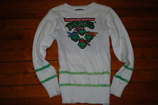 Women's Teenage Mutant Ninja Turtles TMNT Nickeloden Knit Sweater (Small)