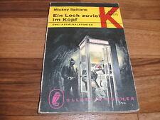 Mickey Spillane -- EIN LOCH ZUVIEL im KOPF // 2 Kurzgeschichten 1. Auflage 1974