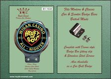Royale Car Scooter Bar Badge - WIGAN CASINO NORTHERN SOUL - B1.1534
