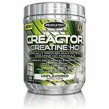 Muscletech Creactor Creatine HCL Max Potency Formula 120 servings FREE POST