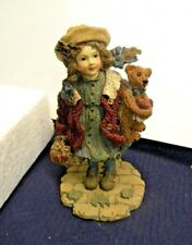 Boyd Bear Yesterday's Child Figurine ~ Candice ~ Gathering Apples #3514 ~ 1996