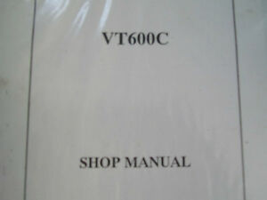HONDA VT600C WORKSHOP MANUAL RING BOUND ENGLISH FRENCH & GERMAN