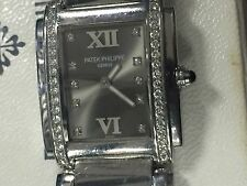 Patek Philippe Twenty-4 4910/10a-010 Stainless Steel Quartz Grey Dial Ret:$12100