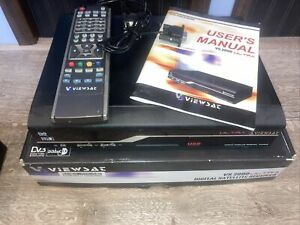 Viewsat VS 2000 FTA Digital Satellite Receiver With Remote and Cable