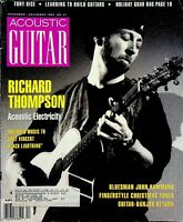 Acoustic Guitar Magazine November December 1993 Richard Thompson m558