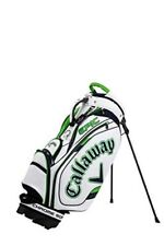 Callaway Caddy Bag TOUR Men's 2021 Model White / Navy / Green Stand Type
