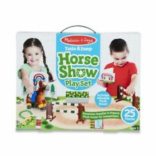 Melissa And Doug Train & Jump Horse Show Play Set #30708 NEW