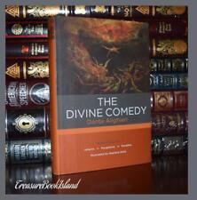 Complete Divine Comedy by Dante Aligieri Inferno Illustrated New Hardcover Gift