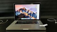 """Apple MacBook Pro MD103LL/A Core i7 2.3 15"""" 4GB 500GB HDD (2012)-qd9732"""