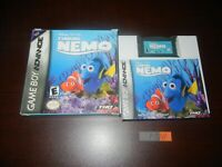 DISNEY'S FINDING NEMO COMPLETE GAMEBOY ADVANCE GBA