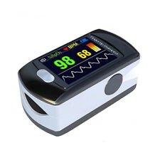 Finger Pulse Oximeter Spo2 Blood Oxygen Monitor Oled Pulse Rate Rechargeable