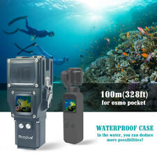 Mcoplus underwater waterproof case for DJI Osmo pocket Camera diving 100m/328ft